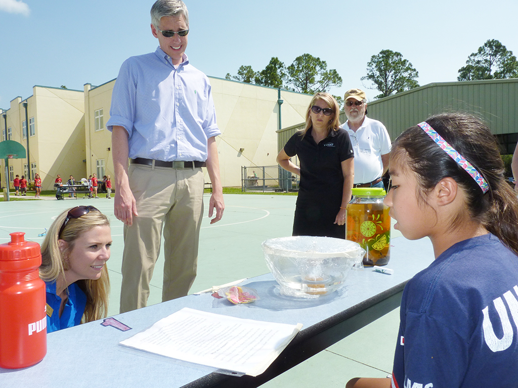 Solar Day At Chiles Elementary School Tampa Electric Blog