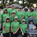 Tampa Electric team members (and some family members) who participated in the March for Babies fundraiser.