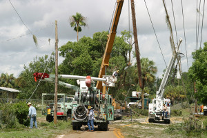 Power restoration after severe weather: It's a tough job, but #WeStandReady.