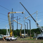 All in a day's (safe) work for Transmission Operations as they tackle projects of huge size and scope to bring reliable power to Tampa Electric customers.