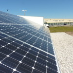 The Lennard High School solar array looks like many other arrays you might have seen...but for students here, it's a brand-new teaching tool.