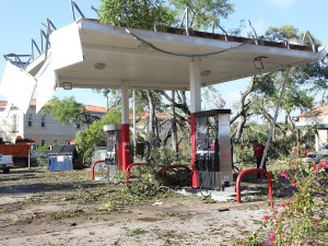 Severe weather can take many forms; this is the aftermath of a tornado that swept through South Tampa in 2011.