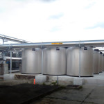 Thermal energy storage units installed at Hillsborough County school.