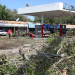 The aftermath of a freak storm with tornadoes that tore through South Tampa in 2011.