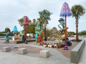 Perry Harvey Park, seen here under construction, celebrates diversity, music, heritage and more.