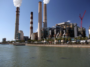 Big Bend Power Station, site of numerous emissions reductions that have had a significant positive impact on Tampa Bay area air quality.