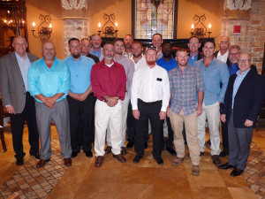 TECO's Journeymen graduates and TECO leaders at the Columbia Restaurant in Ybor City.