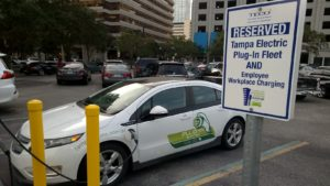 Plug-In Charging at TECO Plaza