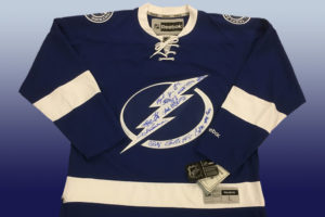 Win an autographed Lightning Jersey