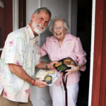 Meals on Wheels: Making the world a little better, one delivered meal at a time.