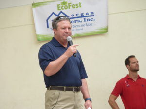 Gordon Gillette, president and CEO of Tampa Electric and president of Florida Operations, at EcoFest 2017.