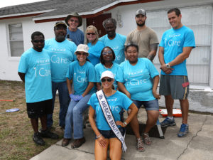 Yet another Paint Your Heart Out group of TECO volunteers!