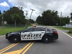 In crisis situations like the ones after Irma, first responders are sometimes the only ones standing between unsuspecting drivers and damaged power lines.