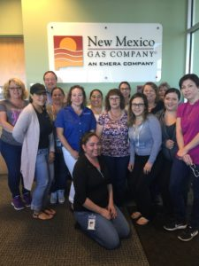 Thank you, NMGC customer service representatives, for helping our customers during Hurricane Irma. You're the best!