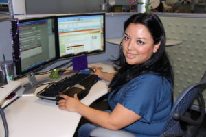 At the call center of New Mexico Gas Company (like TECO, an affiliate of Emera, Inc.), customer service professionals provided critically important help for our customers during and after Irma.