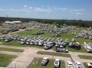 Ready to go at the Florida Strawberry Festival grounds.