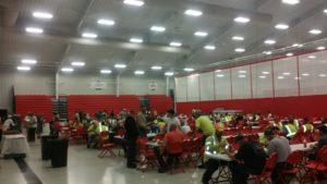 Feeding crews in Plant City.