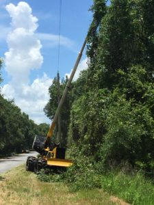 The Jarraff at work in south Hillsborough County in service to your power reliability.